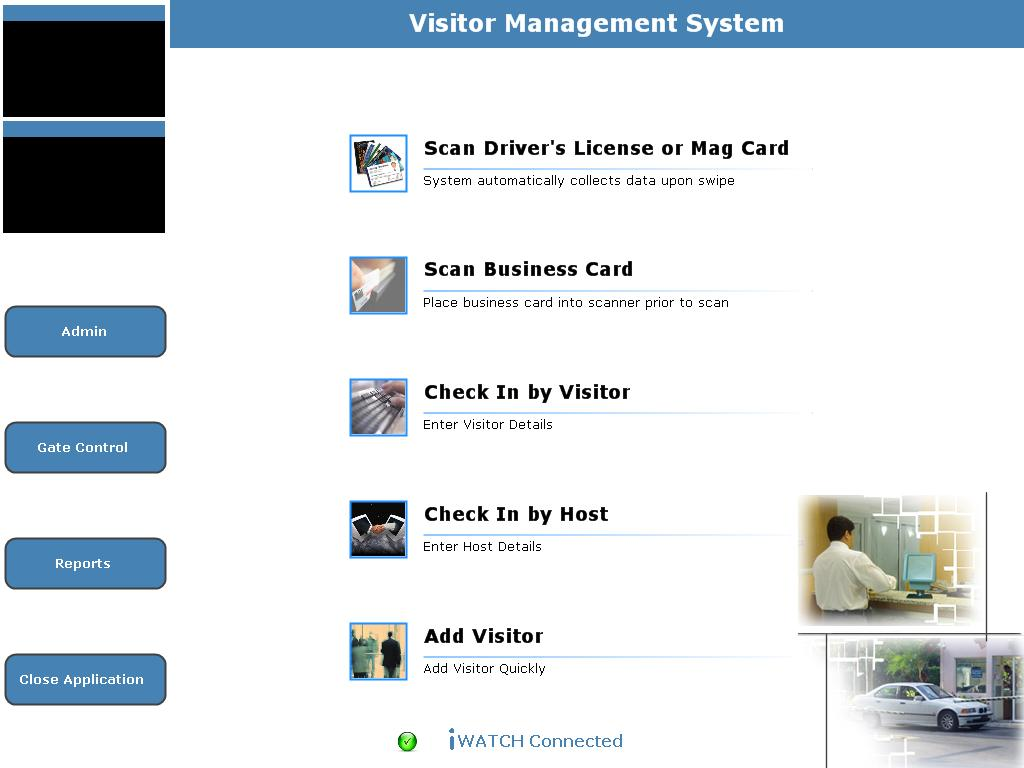VISITOR MANAGEMENT SYSTEM – iWatch Systems | Security System ...